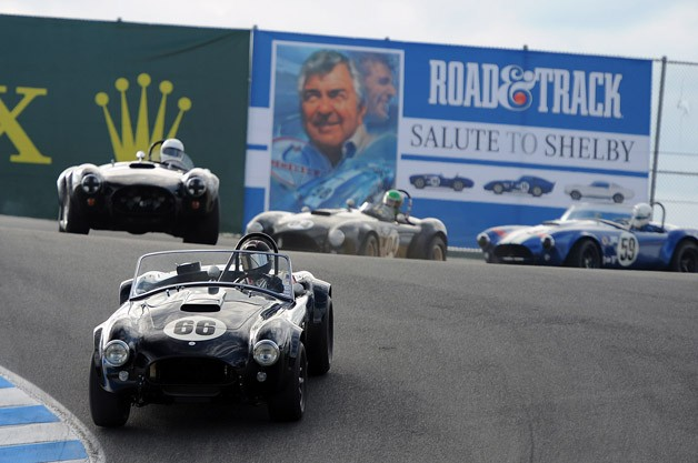 Shelby Cobras at the 2012 Monterey Motorsports Reunion