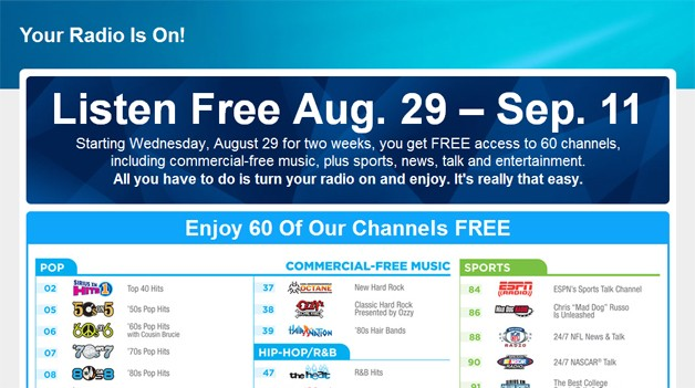 Find new SiriusXM promo codes at Canada's coupon hunting community, all valid SiriusXM coupons and discounts for Up to $10 off.