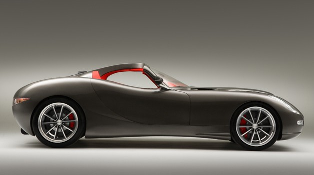 Trident Iceni Grand Tourer - profile in-studio view