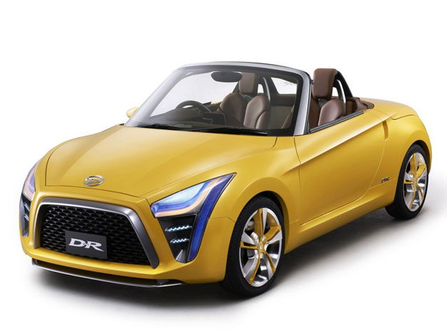 Daihatsu D-R concept - front three-quarter view, studio image