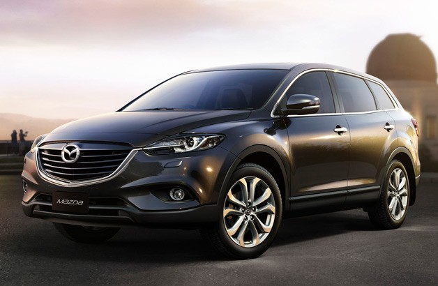 2013 Mazda CX-9 - front three-quarter view