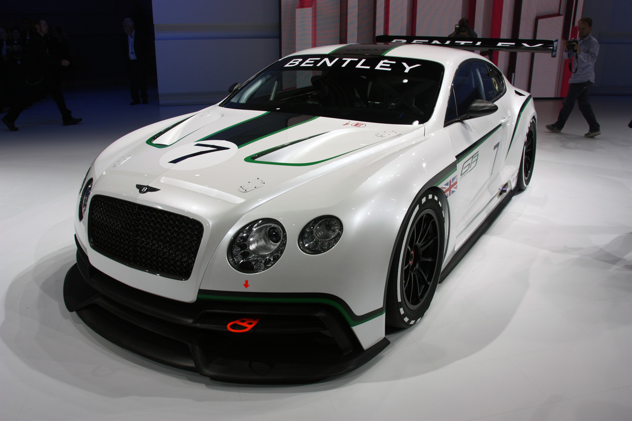 Bentley Unveils Continental Gt3 Racer W Video Autoblog