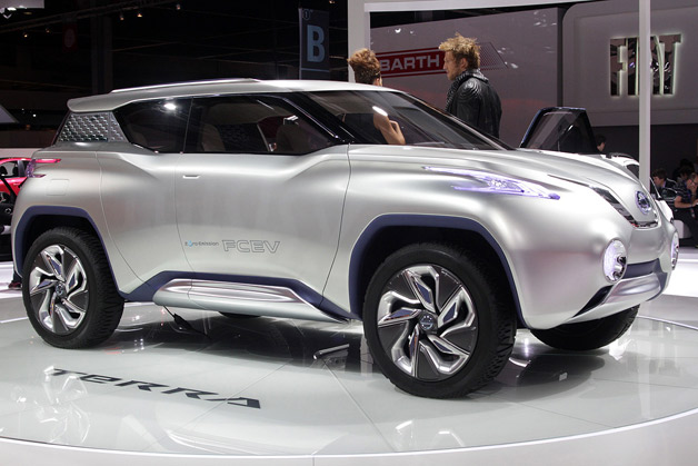 Nissan Terra Concept takes zero emissions off road [w/video]