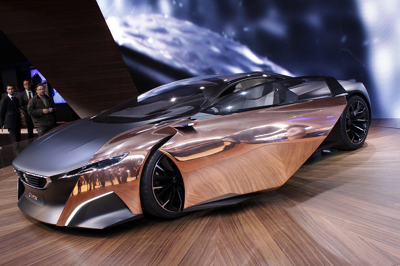 Black Book Car Values >> Peugeot's Onyx hybrid supercar may be the belle of the Parisian ball [w/video] - Autoblog