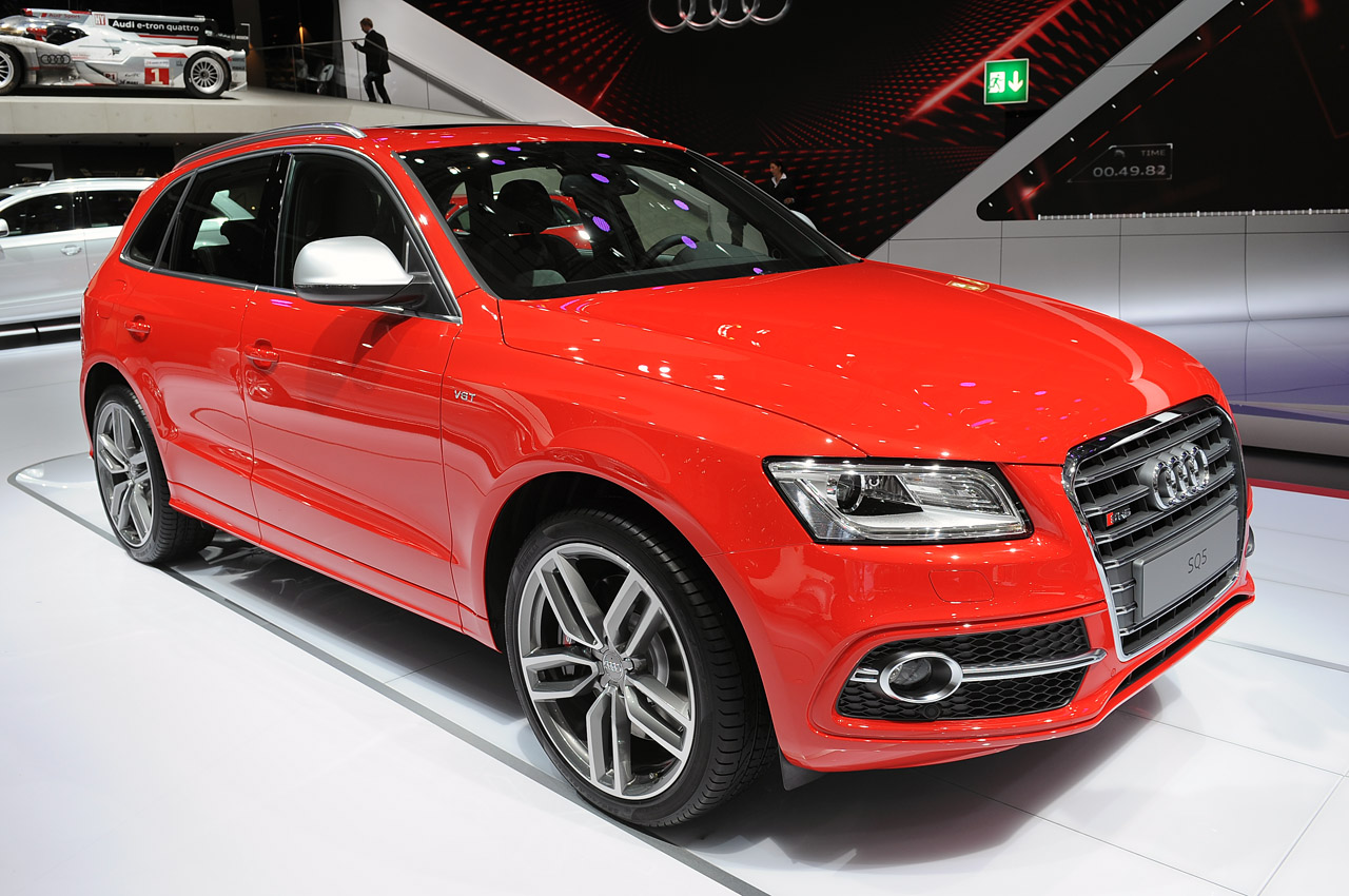 2013 Audi SQ5 is the first S diesel [w/video] - Autoblog