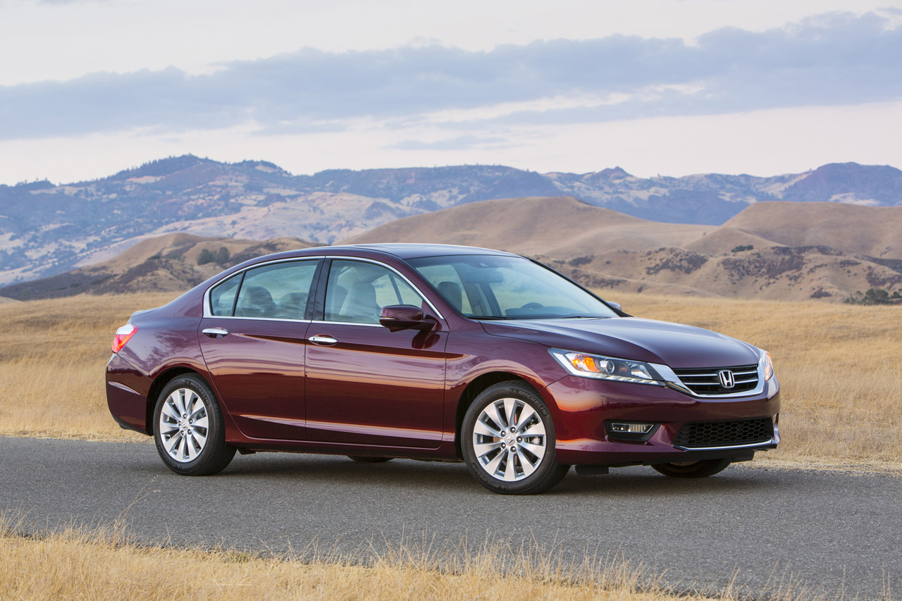 2013 honda accord priced from 21 680 rated at 27 36 mpg for Honda accord exl 2013