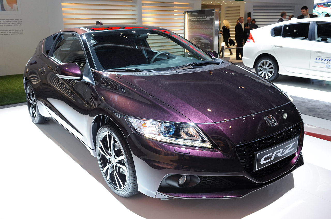 2013 Honda Cr Z Is A Greener Shade Of Purple Autoblog