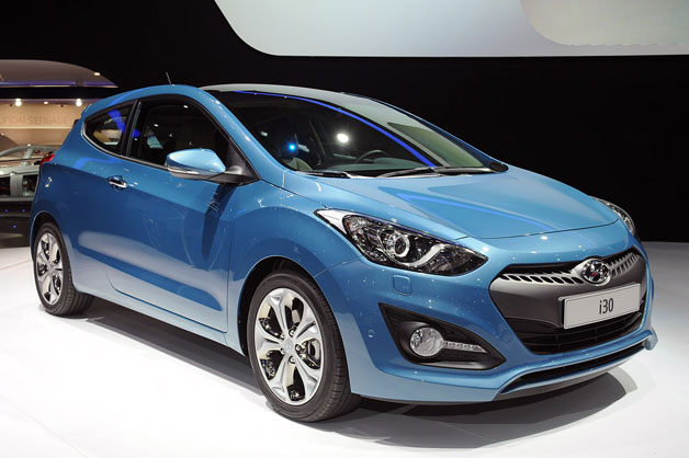 2013 Hyundai i30 3-Door - live at 2012 Paris Motor Show Debut