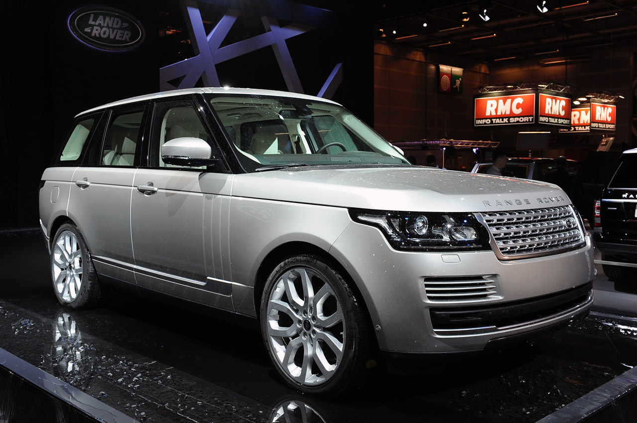 2013 land rover range rover paris 2012 photo gallery. Black Bedroom Furniture Sets. Home Design Ideas
