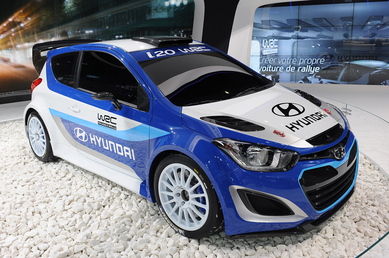 hyundai ready to jump back into rallying with i20 wrc autoblog. Black Bedroom Furniture Sets. Home Design Ideas