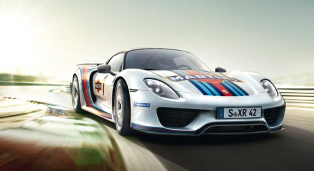 Porsche 918 Spyder brochure