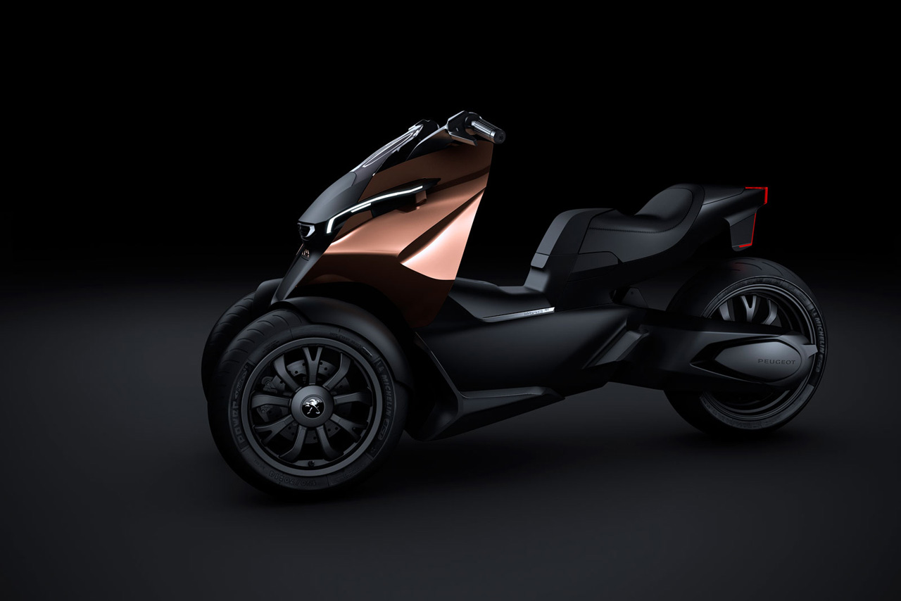 Peugeot Onyx Scooter Concept Photo Gallery Autoblog