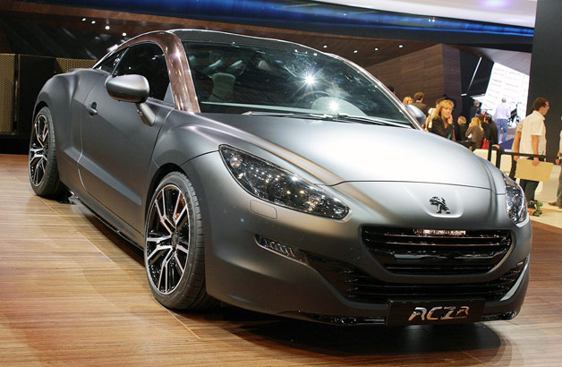 Peugeot RCZ-R Concept - Live at 2012 Paris Motor Show reveal