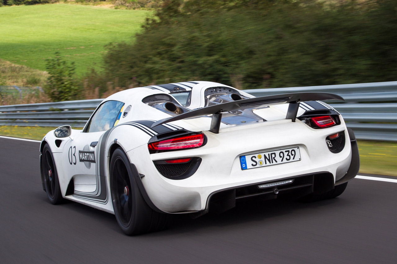 Porsche 918 Spyder Officially Priced From 845k Weissach