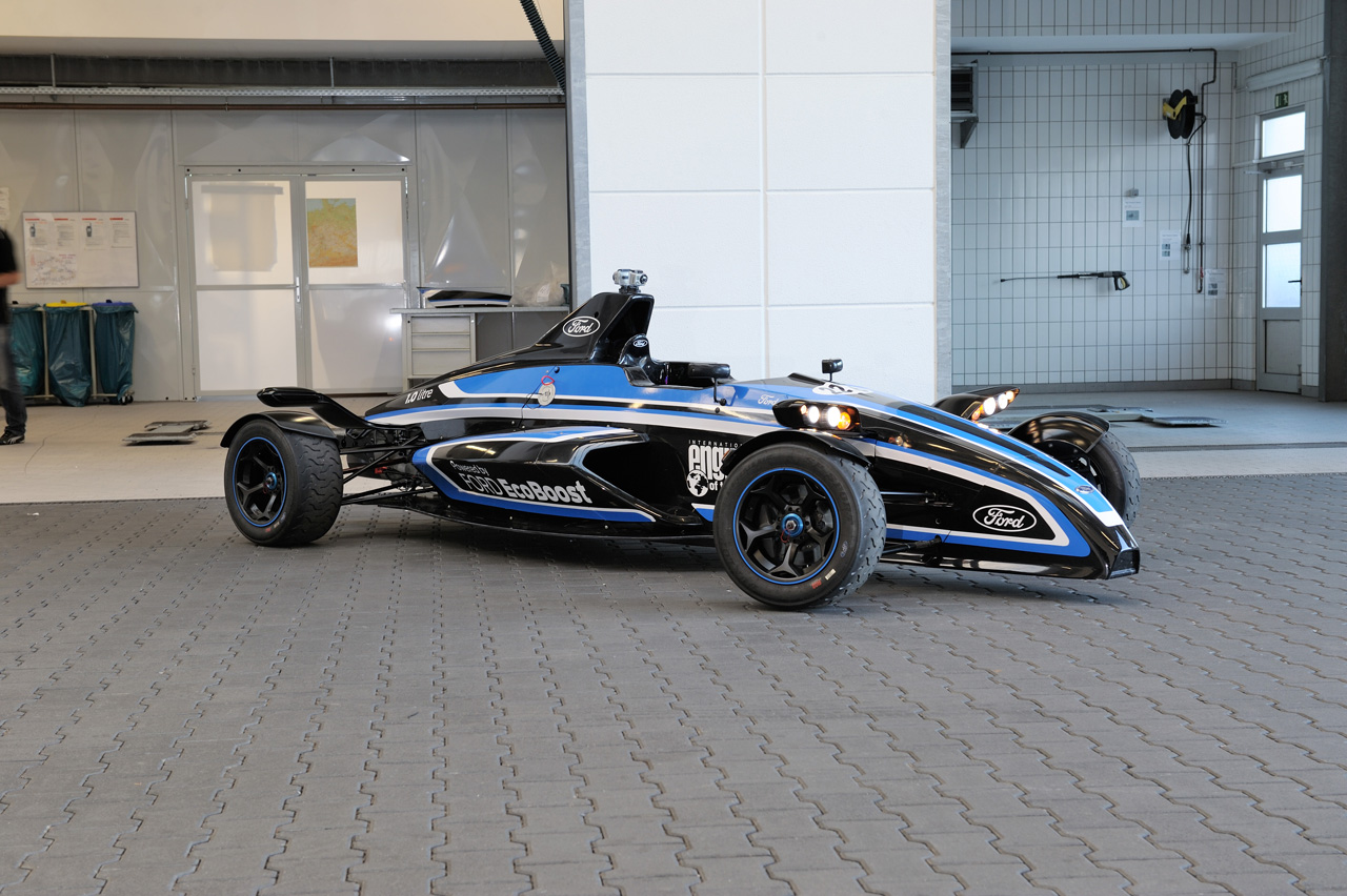 Ford Builds Sweet 1 0 Liter Ecoboost Powered Formula Ford