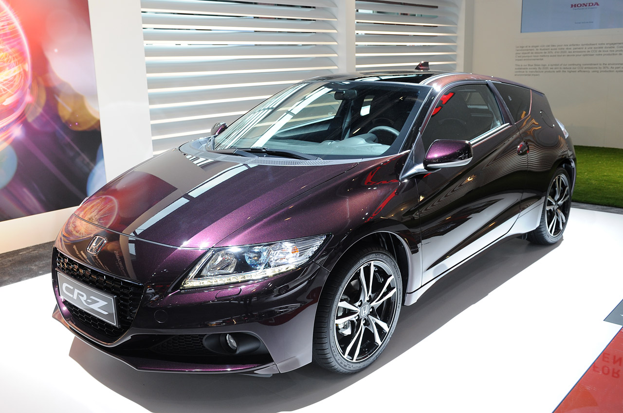2013 honda cr z is a greener shade of purple autoblog. Black Bedroom Furniture Sets. Home Design Ideas