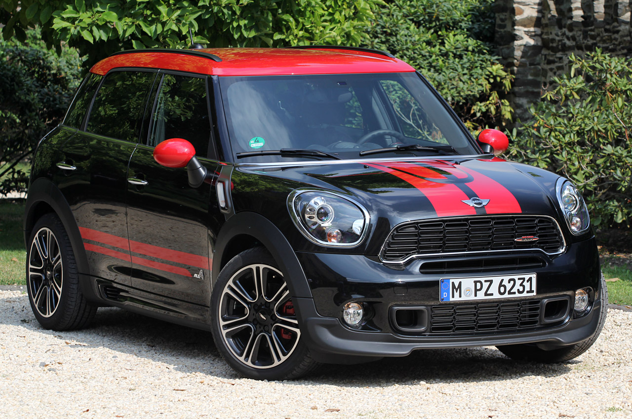 2013 mini countryman john cooper works all4 first drive. Black Bedroom Furniture Sets. Home Design Ideas