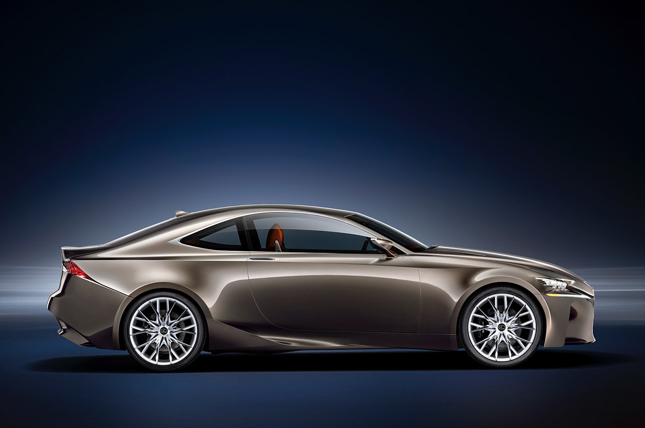 Lexus previews LF-CC Concept ahead of Paris debut - Autoblog