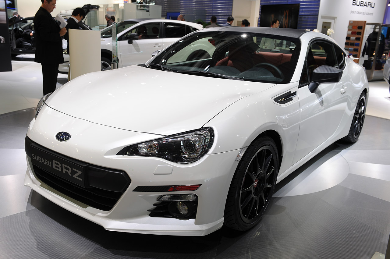 subaru brz xt line concept shows off custom look