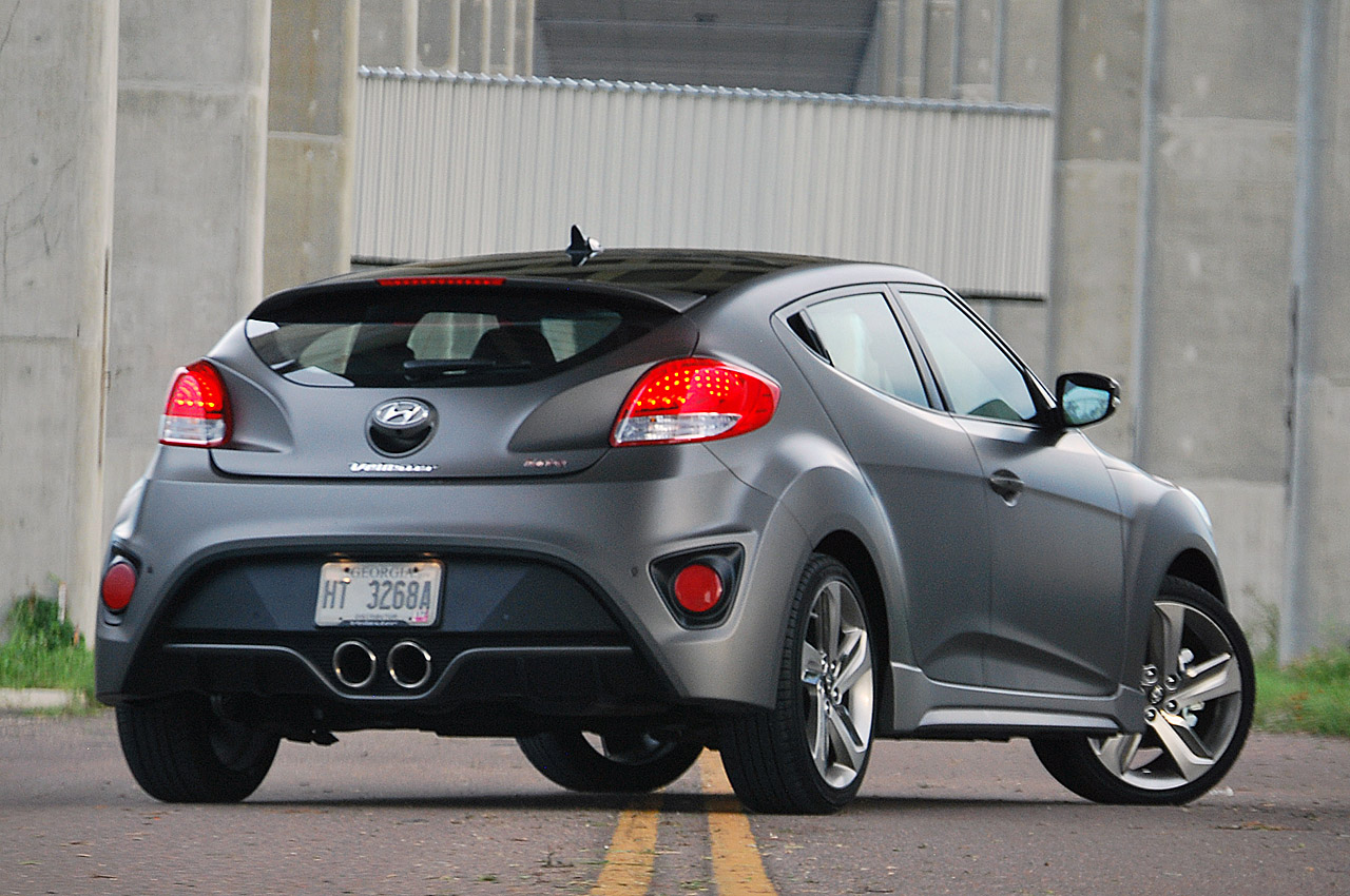 2013 Hyundai Veloster Turbo [w/video] - Autoblog