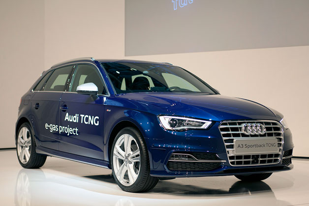 2013 Audi A3 Sportback e-Gas Project shows off carbon-neutral fuel