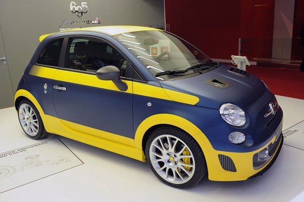 2013 Fiat 500 Abarth Fuori Serie - live at 2012 Paris Motor Show reveal