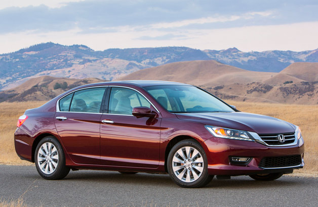 2013 Honda Accord priced from $21,680*, rated at 27/36 MPG