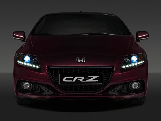 2013 Honda CR-Z head-on shadowy teaser image