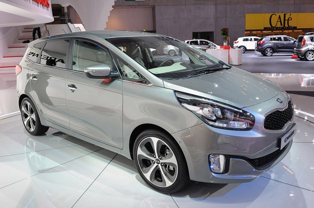 Related Gallery 2013 Kia Carens: Paris 2012