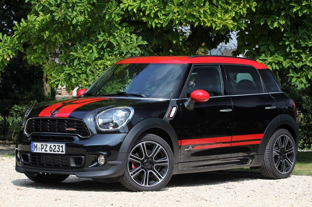 2013 Mini Countryman JCW - front three-quarter view