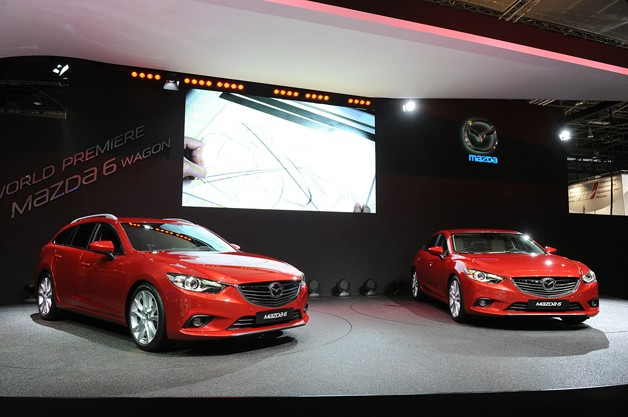 2014 Mazda6 Wagon at the Paris Motor Show