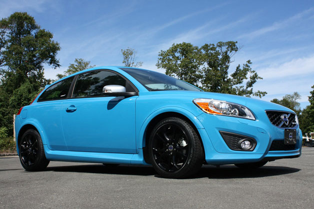 2013 Volvo C30 Polestar edition - front three-quarter view