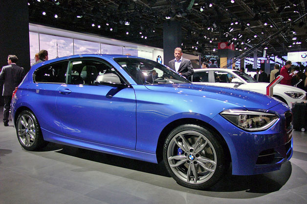 2013 BMW M135i xDrive adds all-wheel drive to performance hatchback platform