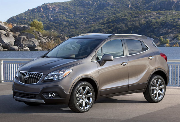 2013 Buick Encore - front three-quarter view