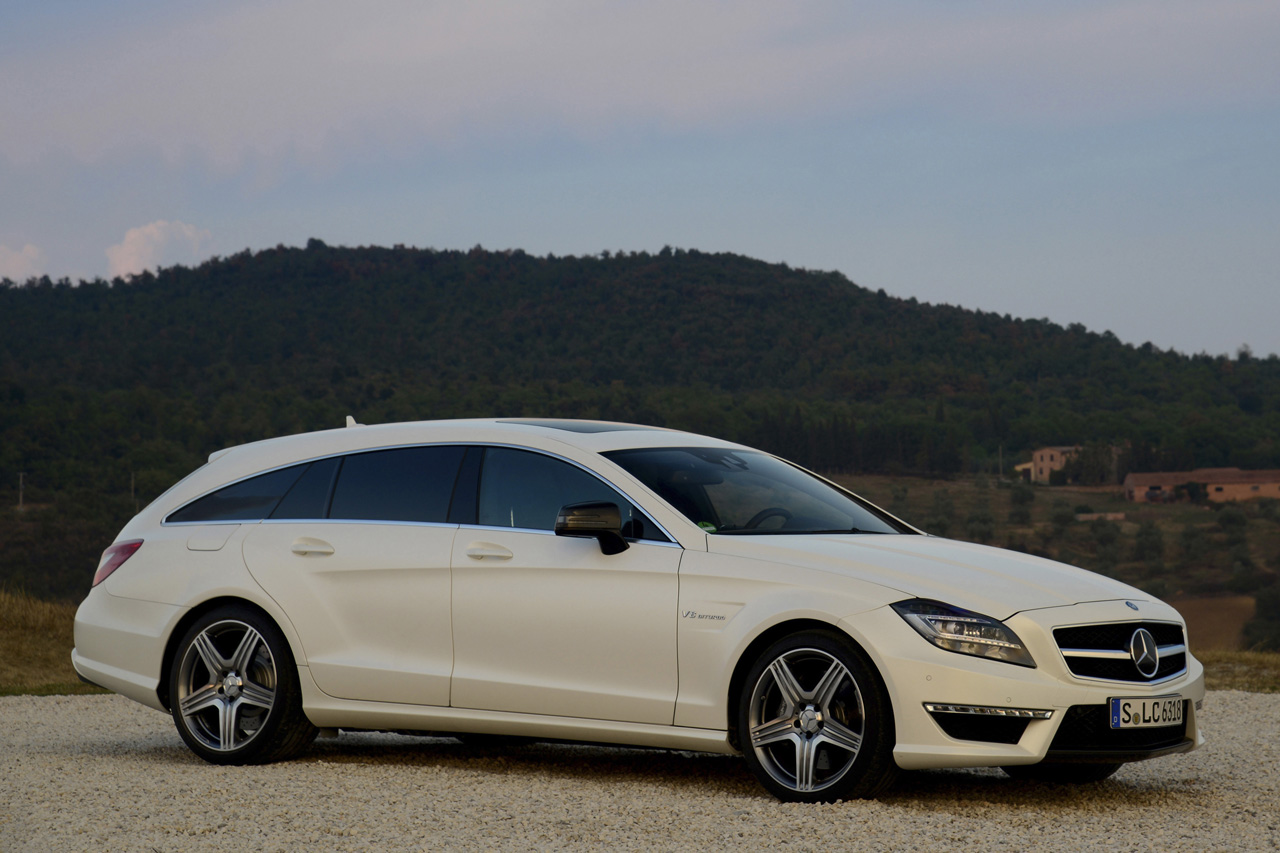 2013 mercedes cls63 amg shooting brake w video autoblog. Black Bedroom Furniture Sets. Home Design Ideas