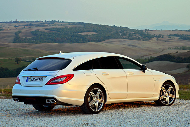 2013 Mercedes Cls63 Amg Shooting Brake W Video Autoblog