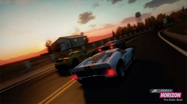 Forza Horizon - video game screencap