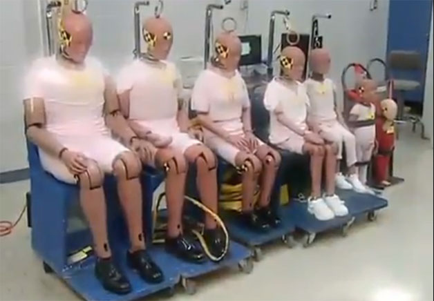 New crash-test dummies