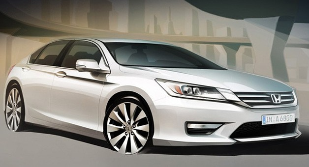 2013 Russian-spec Honda Accord
