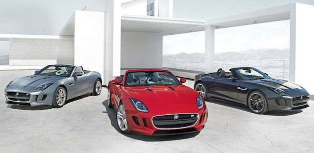 Jaguar F-Type leaked image