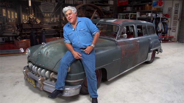 Icon Derelict DeSoto on Jay Leno's Garage