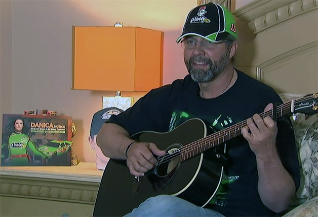Kyle Petty singing ballad about Danica Patrick