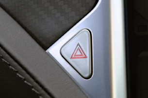 2012 Tesla Model S emergency button