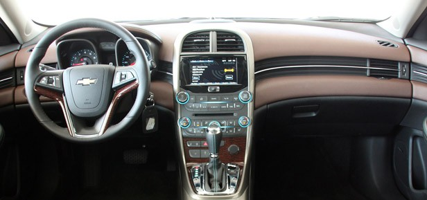 2013 Chevrolet Malibu 2.5 interior