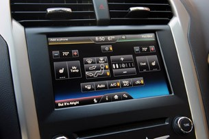 2013 Ford Fusion climate control display