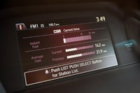 2013 Honda Accord Sport fuel economy display