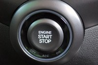 2013 Hyundai Veloster Turbo start button