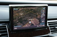 2013 Audi A8L 3.0T Quattro navigation system