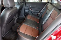 2013 Chevrolet Malibu 2.5 rear seats