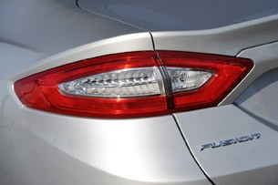 2013 Ford Fusion taillight
